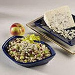 Brown Rice Salad with Apples, Raisins and Blue Cheese recipe