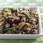 Brown & Wild Rice, California Walnuts and Dried Cranberry Salad recipe
