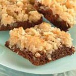 Brownies with Broiled Coconut Frosting recipe