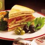 Butterkase Focaccia Antipasto Sandwiches recipe