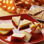 Cheese Plate with Pineapple Salsa recipe