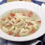 Cheese Tortellini in Savory Broth recipe