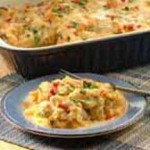 Cheesy Creamy Pasta Casserole recipe