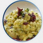 Chef Berry's Roasted Pumpkin Risotto with Cranberry Brown Butter Sauce recipe