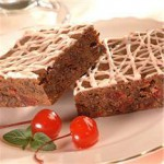 Cherry Chip and Malted Brownies recipe