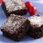 Chewy Cherry Brownies recipe