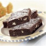 Chewy Cocoa Brownies recipe