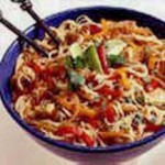 Chicken Fajita Pasta Toss recipe