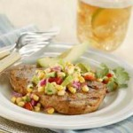 Chile-Rubbed Grilled Pork Chops recipe