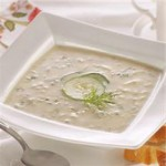 Chilled Cucumber & Leek Soup recipe