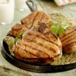 Chipotle-Lime Marinated Grilled Pork Chops recipe