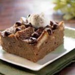 Chocolate & Irish Cream Bread Pudding recipe
