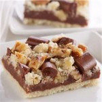 Chocolate Layer Crumb Bars recipe