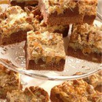 Chocolate Pretzel Coconut Layer Bars recipe