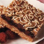 Chocolate Raspberry Streusel Squares recipe