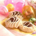 Chocolatey NestEgg Shortbread Cookies recipe