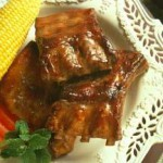 Citrus-Glazed Baby Back Ribs recipe