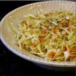 Coleslaw with Toasted Almonds recipe