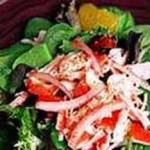 Crab Salad with Guava Dressing recipe