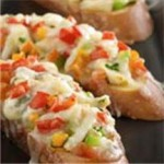 Crabby Pico de Gallo Bruschetta recipe