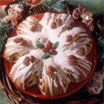Cranberry-Filled Wreaths recipe