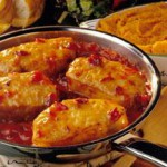 Cranberry-Onion Chops recipe