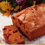 Cranberry Gingerbread Loaf recipe