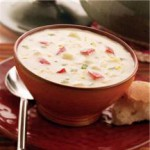 Cream Soup with Potatoes and Cheese recipe