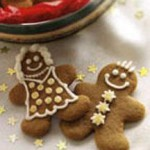 Crystallized Ginger Gingerbread People recipe
