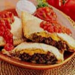 Easy Mexican Calzone recipe
