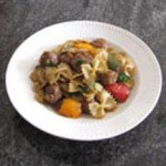 Farfalle with Italian Sausage and Peppers recipe
