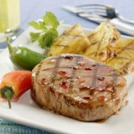 Fiery Island Pineapple Pork Chops recipe