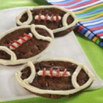 Football Cookies recipe
