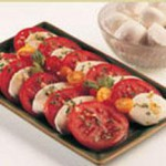 Fresh Mozzarella, Tomato and Basil Salad recipe