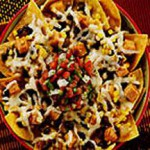 Fresh Nachos with Muenster and Salsa Cruda recipe