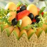 Fruit Salad in a Melon Bowl recipe