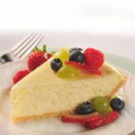 Fruited White Cheesecake recipe
