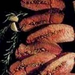 Garlic-Stuffed Sirloin recipe