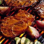Ginger, Soy and Sherry Soaked Pork Steak recipe