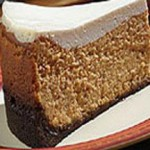 Gingerbread Pumpkin Cheesecake with Cookie Crust recipe