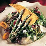 Goodfellows Asparagus Salad with Parmesan Crackers recipe
