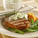 Grecian Grilled Chops recipe