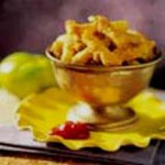 Green Tomato Fries with Fiery Ketchup recipe