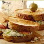 Grilled Blue Cheese and Bacon Sandwiches recipe