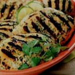 Grilled Chicken with Spicy Ginger Marinade recipe