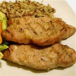 Grilled Honey-Soy Chops recipe