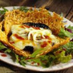 Grilled Portobellos with Sun-Dried Tomato Dressing recipe