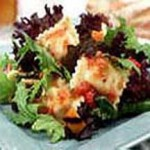 Grilled Vegetable and Ravioli Salad recipe