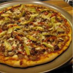 Homemade Pizza with Variations recipe