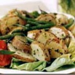 Idaho Potato and Pesto Chicken Salad recipe